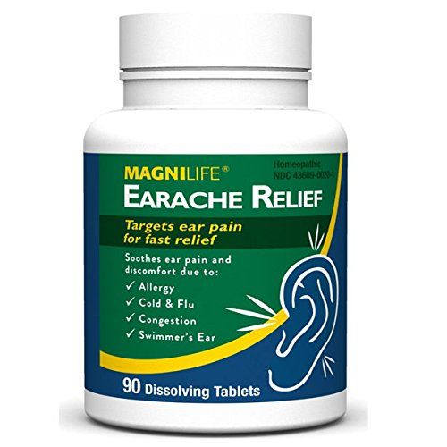 MagniLife Earache Relief Tablets 90 Count