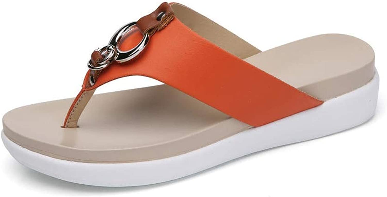 Fanxu Women's Flip Flops,Non-Slip Casual Beach Sandals (3 colors)