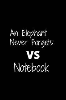 An Elephant Never Forgets: VS Notebook
