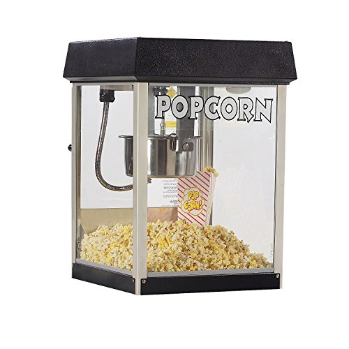 New Gold Medal 2404MD 4 oz Midnight Black Fun Pop Popcorn Popper