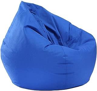 AiYannis6. Waterproof Bean Bag Chair Storage Bean Bag Oxford Chair Cover,Teens and Adults Lounger Sack (Blue)