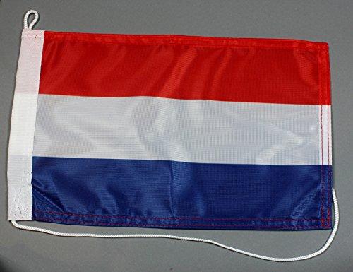 Buddel-Bini Bootsflagge Niederlande Holland 20 x 30 cm in Profiqualität Flagge Motorradflagge