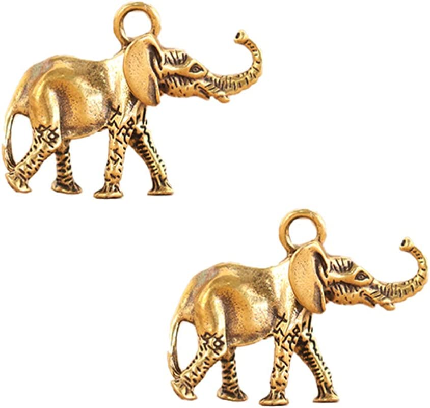 IMIKEYA 2pcs Thai Elephant Statues Figurines Max 71% OFF Collectible De Home Weekly update