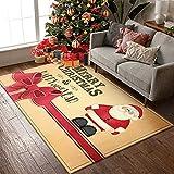 Mengde Feliz Navidad Decoración Alfombra de área de bienvenida...