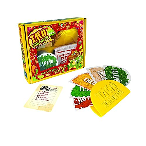University Games Taco Takeover Food Stuffing Party Game for Kids