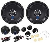 Pair Rockville 6.5' Component Car Speakers w/Kevlar Cones+Silk Dome Neo Tweeters