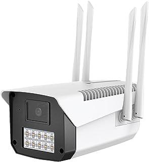 SEEDARY Cámara de Seguridad Exterior WIFI Inalambrica HD1080P Impermeable IP66, 10 Luces IP Cámara Vigilancia Con Audio Bi...