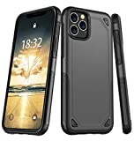 Potalux iPhone 11 Pro Case, Case for iPhone 11 Pro【2019】 Stylish Dual Layer Hard PC Back Full Body Protective Shockproof Slim Wireless Charging Support Cover Protect Case for iPhone 11 Pro(5.8inch)