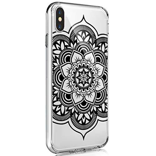 Surakey Funda Compatible para iPhone XS Max Funda [Ultra Hybrid] Transparente Carcasa Absorcion de Choque Cojín de Esquina Parachoques de TPU Gel Ultra Fina Protección,#9