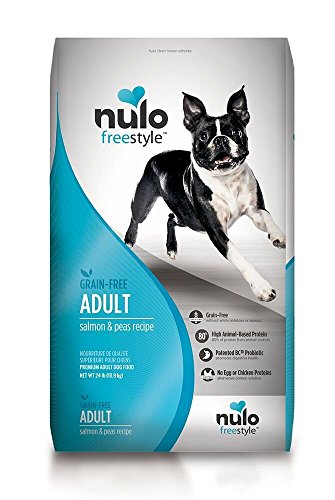 Nulo Adult Salmon Grain-Free Dry Food, 24 lb