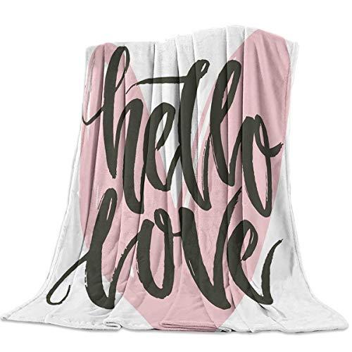 Yaxinduobao Ultra Soft Flannel Fleece Bed Coperta Flannel Fleece all Season Light Weight Living...