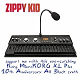 Support Me With This Eye-Catching Korg Microkorg Xl 10th Anniversary All Black Synth