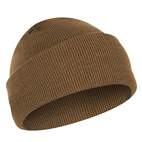 Rothco Deluxe Fine Knit Watch Cap, Coyote