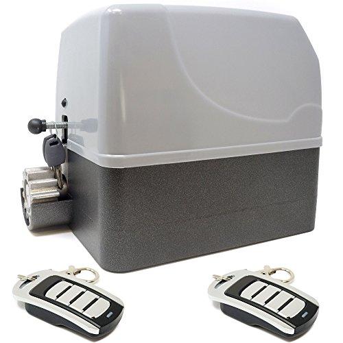 Kit motor para puerta de garaje o cancela de corredera GEKO 400 Kg – 220 v + 2 mandos VDS ECO Rolling Code 4 canales 433 mhz