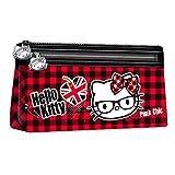 Karactermania 38747 Hello Kitty Astuccio, 22 cm, Viola