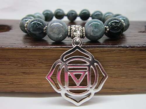 Muladhara Charm Bracelet, Root Chakra Bracelet, Base Chakra Meditation Yoga Healing Bracelet Meaningful Spiritual Chakra Bracelet Muladhara