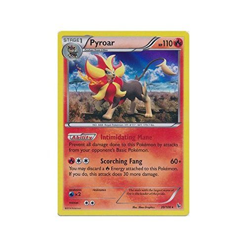 Pokemon - Pyroar (20) - XY Flashfire - Holo