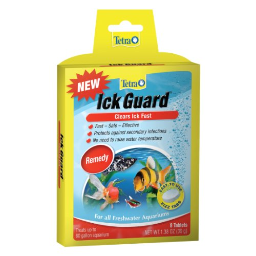 Tetra Ick Guard 8 Count, Quick Remedy For Ick In aquariums