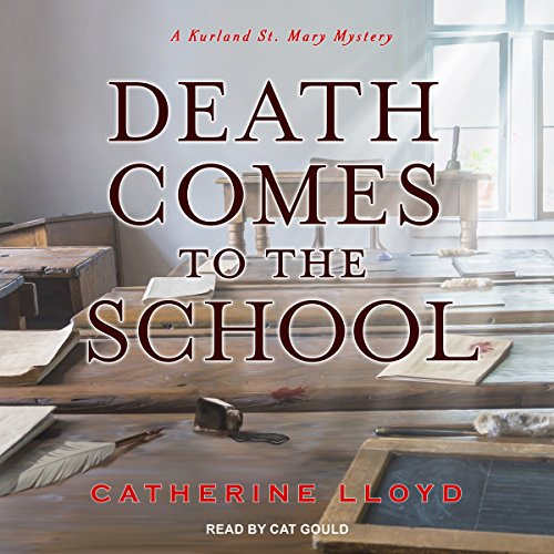 Death Comes to the School audiobook cover art