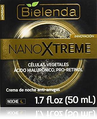 Bielenda Nano Xtreme Appearance Anti - Wrinkle Night Face Cream Plant Cells + Hyaluronic Acid + Pro-Retinol 1.7 fl oz/50 ml by Bielenda