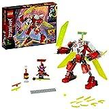 LEGO Ninjago - Robot-Jet de Kai, Set de Construcción 2 en 1, Incluye dos Minifiguras de Personajes...