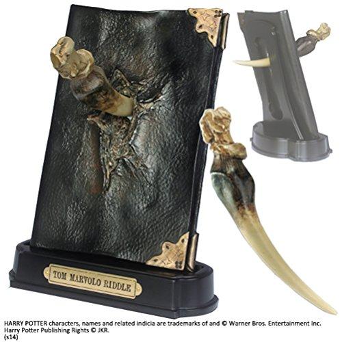 La Noble Collection Sculpture de journal de Fang de Basilisk et Tom Riddle