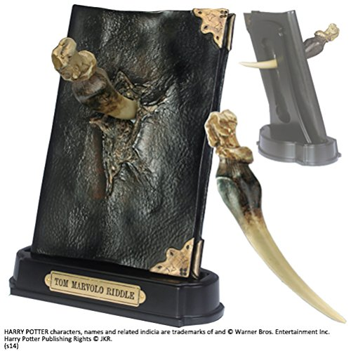 The Noble Collection Basilisk Fang und Tom Riddle Diary Sculpture