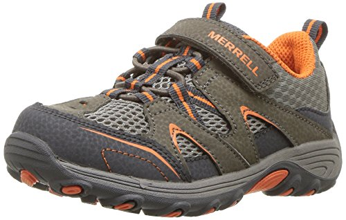 Merrell Kids' Unisex M-Trail Chaser Jr Hiking Shoe, Gunsmoke, 10 Medium US Toddler