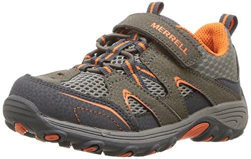 Merrell Kids' Unisex M-Trail Chaser Jr Hiking Shoe, Gunsmoke, 6 Medium US Toddler