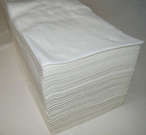 Toallas desechables Spun-Lace 40*80 cm, 800 Unds, en 8 paquetes, Peluquería / Estética, color Blanco