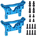 Hobbypark Aluminum Rear/Front Shock Tower A959 Upgrade Parts for 1:18 Scale WLtoys RC Buggy Car A949-09
