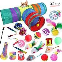 猫のおもちゃペットのおもちゃの組み合わせセット猫面白い猫のスティックレインボートンネルペットのおもちゃセット屋内クリエイティブ用品