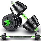 2IN1 Kit Mancuernas Musculacion Grandes Mancuernas, Pesas Ajustables,para Entrenar en...