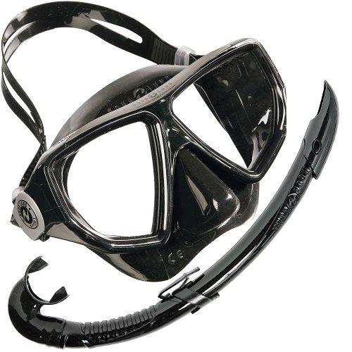 Aqua Lung Sport - Set di maschera e boccaglio Oyster/Airflex, M/L