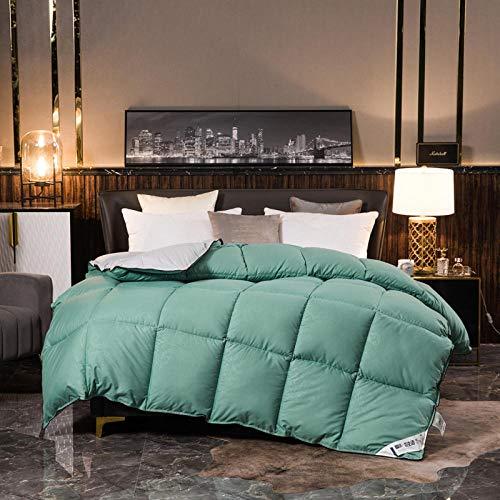 CHOU DAN Double duvet 10.5 Tog Duvet double bed Anti-allergic double duvet 4.5 Tog-150x200cm 2000g_17