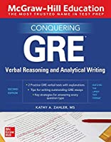 McGraw-Hill Education Conquering GRE Verbal Reasoning and Analytical Writing, 2nd Edition Front Cover