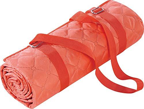 biederlack Picknickdecke orange Größe 130x170 cm