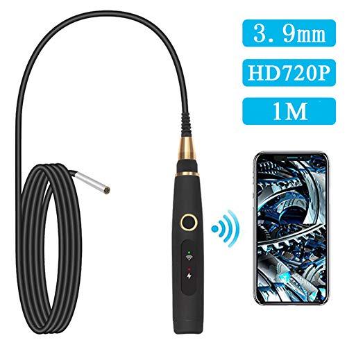 LJYNKJ WiFi endoscoop draadloze inspectiecamera 1,0 megapixel HD endoscoopcamera IP67 waterdichte camera met 6 LED-lampen voor iOS Android -1M