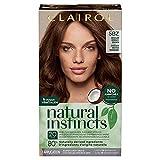 Clairol Natural Instincts Semi-Permanent Hair Dye, 5BZ Medium Bronze Brown Hair Color, 1 Count