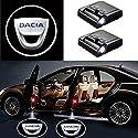 MIVISO 2 Stücke Wireless Car Door Einstiegsbeleuchtung Projektor Auto Logo Türbeleuchtung Willkommen Lichter LED Auto Embleme Door Courtesy Light