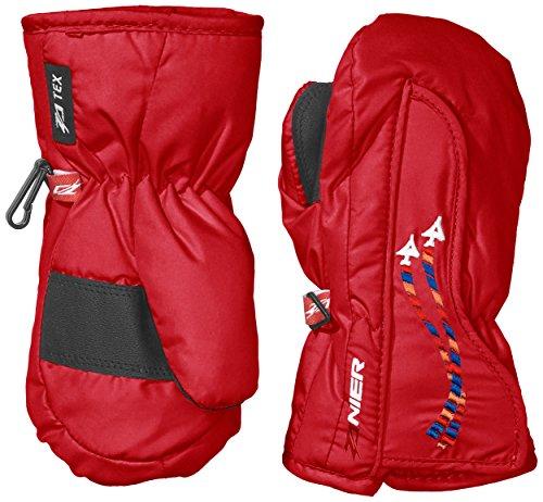 Zanier Kinder Handschuhe Shorty.ZX, Rot, XS, 90104