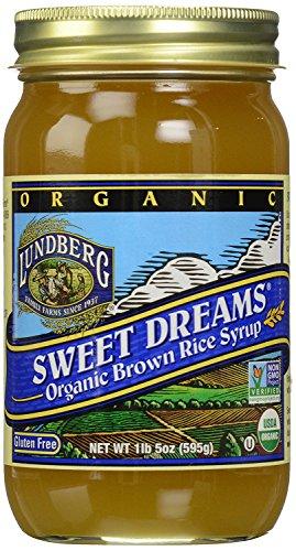 Lundberg Family Farms - Organic Sweet Dreams Brown Rice Syrup, Substitute Sweetener, Replaces Sugar, Honey, Corn Syrup, Non-GMO, Gluten-Free, USDA Certified Organic, Vegan, Kosher (21 oz)