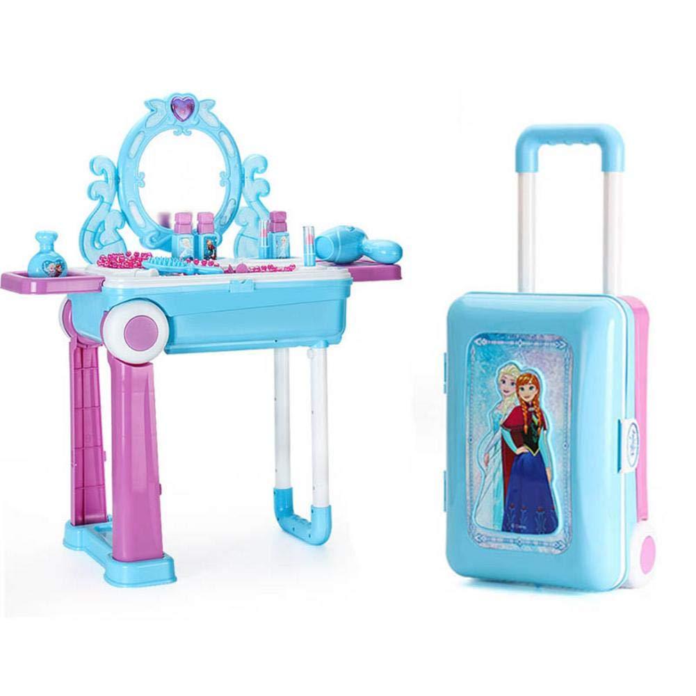 hook.s Pretend Play - Juego de Mesa de Maquillaje, Kit de Juguetes de Maquillaje de Frozen Pretend Play Kids: Amazon.es: Coche y moto