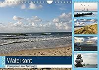 Waterkant - Impressionen einer Sehnsucht (Wandkalender 2022 DIN A4 quer): Stimmungsvolle Bilder von Nord- und Ostsee (Monatskalender, 14 Seiten )