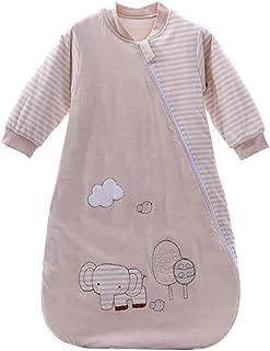 B/éb/é Gigoteuse Hiver Barboteuses Gar/çons Filles Manche longue Coton Pyjama Combinaison Chaud Grenouill/ères 0-2 ans,Rose