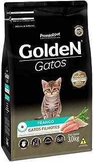 Ração Golden Gatos Filhotes Sabor Frango - 3kg Premier Pet para Todas Todos os tamanhos de raça Filhotes -