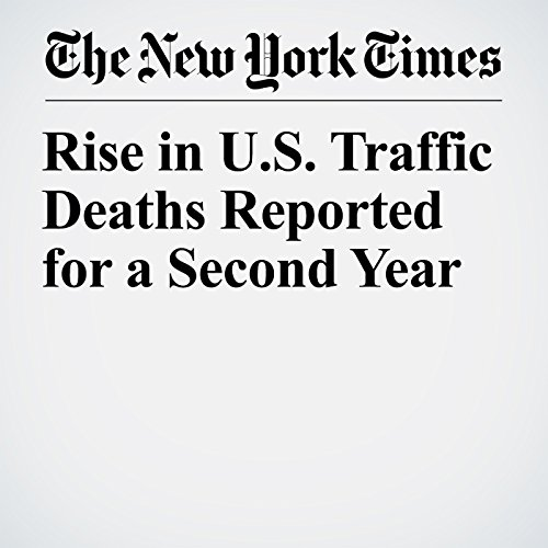 Rise in U.S. Traffic Deaths Reported for a Second Year copertina