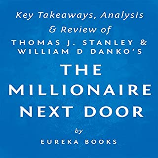 The Millionaire Next Door by Thomas J. Stanley and William D. Danko: Key Takeaways, Analysis, & Review cover art
