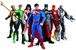 Image: DC Collectibles Justice League 7-Pack Action Figure Box Set | Visit the DC Collectibles Store
