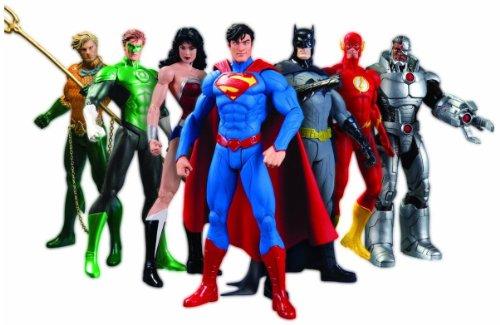 DC Comics New 52 Justice League 7 Pack Action Figure Box Set